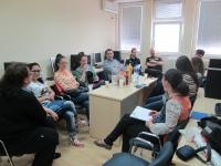 """RADIONICA  """"Aktivno učešće mladih u kreiranju lokalnih politika zapošljavanja mladih"""""""