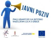 Javni poziv za interno raseljena lica sa Kosova* za opremu i obuke za pokretanje posla