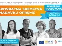 EU PRO – II javni poziv za preduzetnike, mikro i mala preduzeća