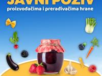 REZULTATI JAVNOG POZIVA Proizvođačima i prerađivačima hrane u Šumadiji i Istočnoj Srbiji za učešće u programu podrške razvoju poslovanja