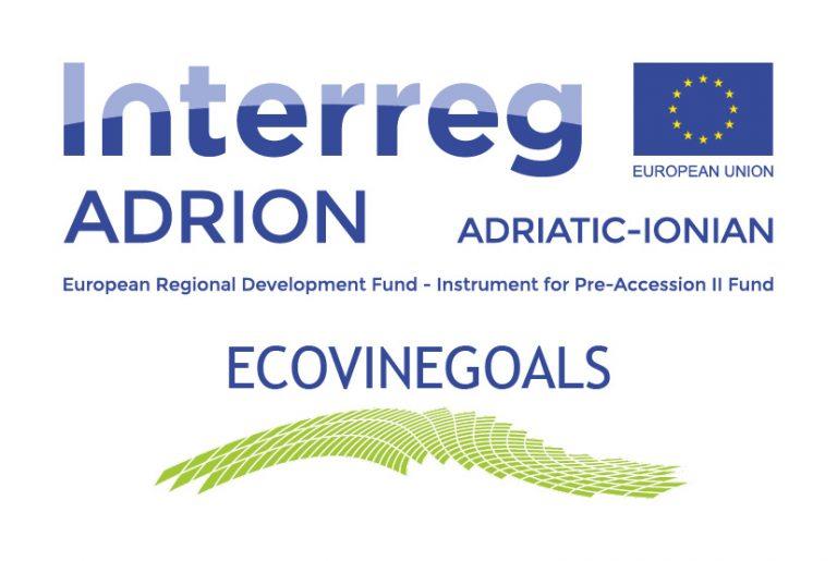 """Počela realizacija projekta """"ECOVINEGOALS"""" u okviru transnacionalnog programa """"Interreg Adrion"""""""