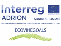ECOlogical VINEyards GOvernance Activities for Landscape Strategies ECOVINEGOALS/INTERREG V-B Adriatic-Ionian ADRION Programme 2014-2020